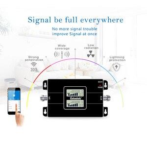 Image 4 - Lintratek 2G 3G Ripetitore Del Segnale GSM 900 3G 2100 Amplificatore 2G 3G Ripetitore di Segnale GSM 900 2100 Dual Band 65dB KW17L GW #6.3