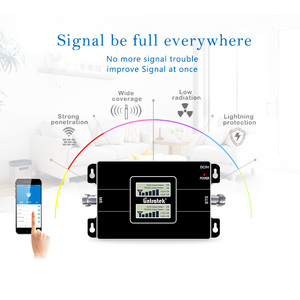 Image 4 - Lintratek 2G 3G Signal Booster GSM 900 3G 2100 Amplifier 2G 3G Signal Repeater GSM 900 2100 Dual Band 65dB KW17L GW #6.3