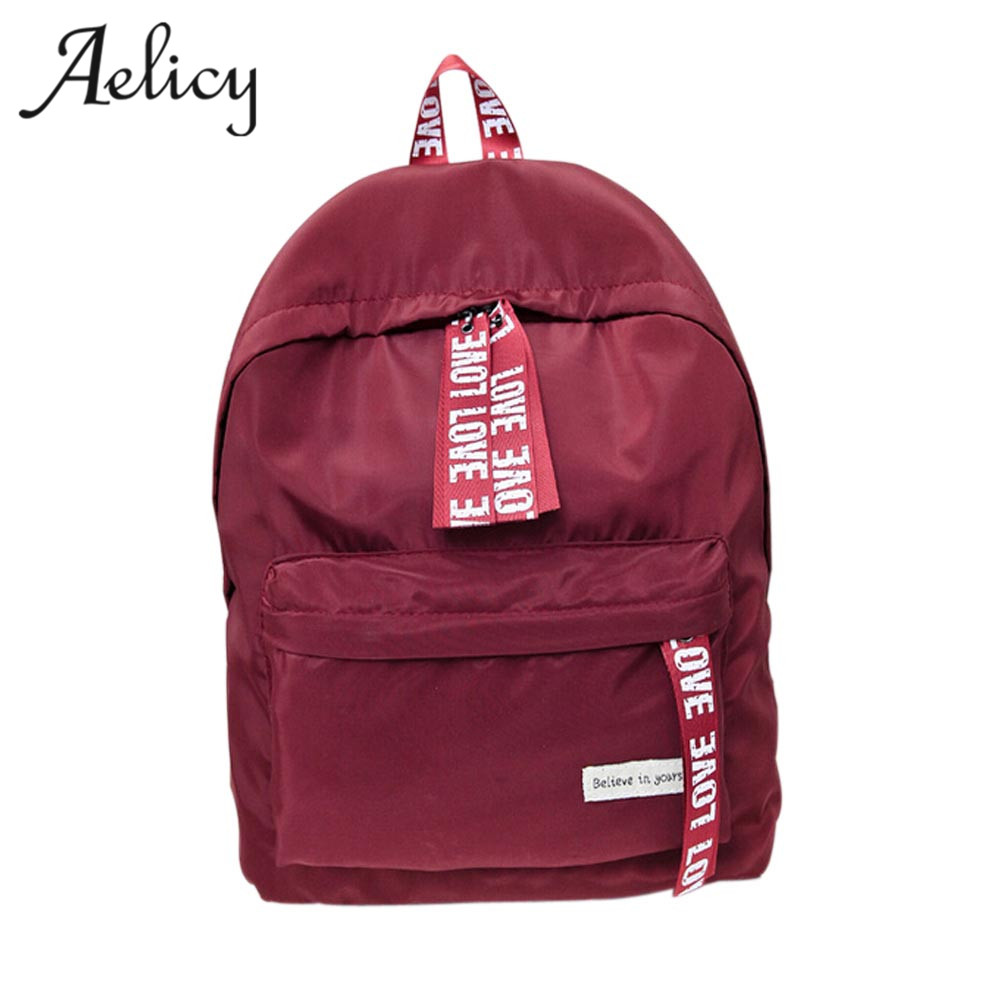 ca67e3d940 Aelicy Canvas Men Women Backpack College High Middle School Bags For  Teenager Boy Girls Laptop Travel Backpacks mochila feminina