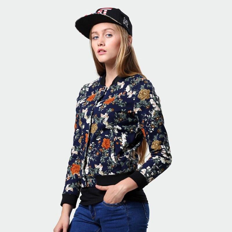 2016 gedruckt Modelle Herbstmode Dünne Kurze Jacke Uniform langärmelige Jacke Frauen Strickjacke Jacke