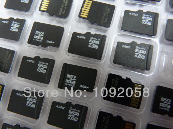 Карта памяти карта micro sd 32 ГБ класс 10 Micro sd карты ПАМЯТИ Ручка Флэш-накопитель с SD Адаптер Бесплатная доставка