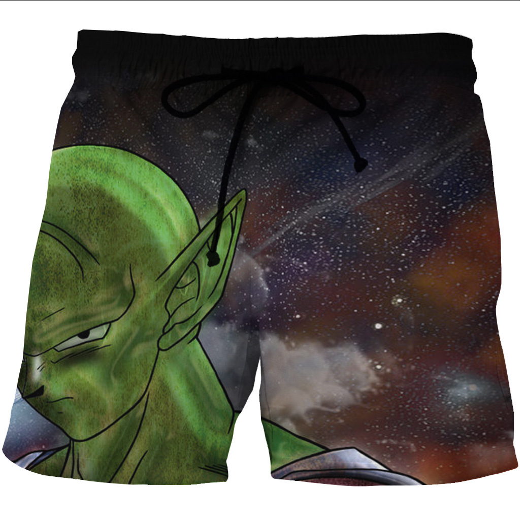 bd522c71a128b Cosplay Dragon Ball King Piccolo Sports Short Pants Men Mesh Trunks Surf  Beach Shorts Fitness Outwear Trunks Swimwears Quick Dry-in Surfing & Beach  Shorts ...