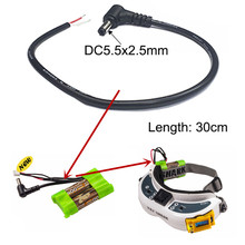 DC 5.5*2.5mm Power Adapter Output Line (12V 4A) for RC FPV Lipo Battery Fatshark FPV Goggles