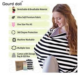 Gourd Doll Nursing Breastfeeding Privacy Cover Baby Scarf Infant Car Seat Stroller Breast Feeding Scarf Nursing Covers