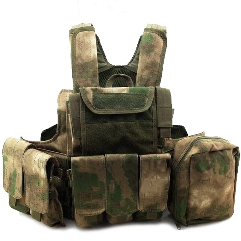 Carrier Vest Modular Chest Rig Combat vest Tactical Airsoft Molle Combat Vest With MOLLE Pouches FG Camouflage эргорюкзак boba carrier vail