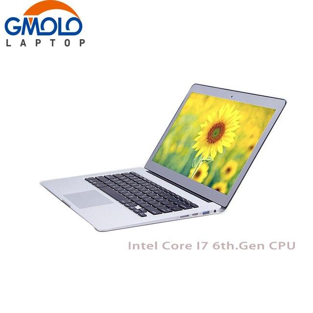 13.3 дюйма i7 6th. gen ноутбук 8 ГБ и 256 ГБ SSD 1920*1080 HD экран клавиатура с подсветкой Оконные рамы 10 Ultrabook ноутбук