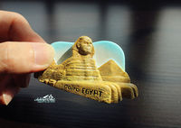 Pyramid Sphinx Egypt Cairo Tourism Travel Souvenir 3D Resin Fridge Magnet Craft GIFT
