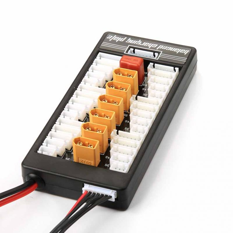 Hot RC High Quality 2S-6S Lipo Battery Parallel Charger Plate XT60 Connector For Iflight B6
