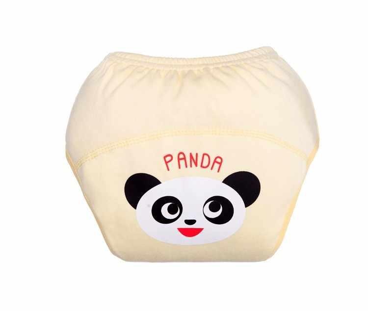 1 قطعة الطفل الفتيان الفتيات قابل للغسل حفاضات لطيف القماش جديد قابلة لإعادة الاستخدام حفاضات الحفاظات القطن التدريب سراويل حفاضات