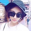 Mix vento Nova Moda Das Mulheres Dos Homens de Óculos De Sol Das Mulheres Marca Designer de Óculos de Sol Quadrados Do Vintage Óculos de sol para frete grátis