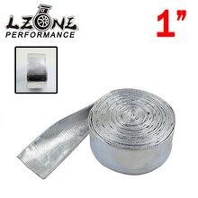 LZONE ГОНКИ-1 «Aluminized Светоотражающая Пленка mylar Теплозащитный экран Пожарного Рукава (Один рулон = 10 м) JR1512A