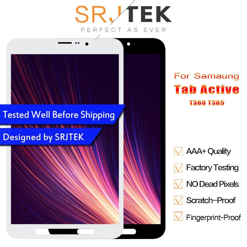 SRJTEK LCD Display For Samsung Galaxy Tab Active SM T365 T365 SM T360 T360 Display Matrix