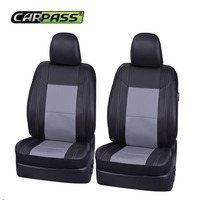 Car Pass Seat Covers Univerasl Auto Car Pu Leather Seat Covers 6Pcs Car Seat Covers Leather