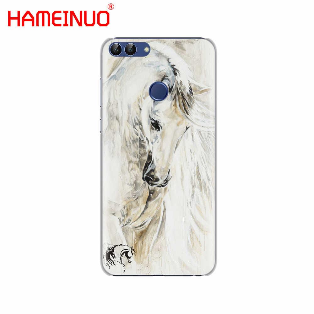 HAMEINUO סוס משובח אמנות טלפון נייד כיסוי Case עבור huawei Honor7C Y5 Y625 Y635 Y6 Y7 Y9 2017 2018 ראש פרו