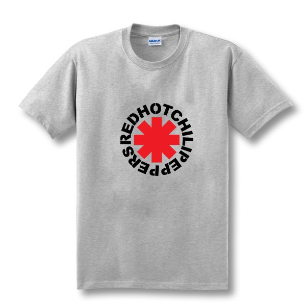 nk Punk Rap Alternativ Rock And Roll Rød Hot Chili Peppers T-shirt - Herretøj - Foto 4