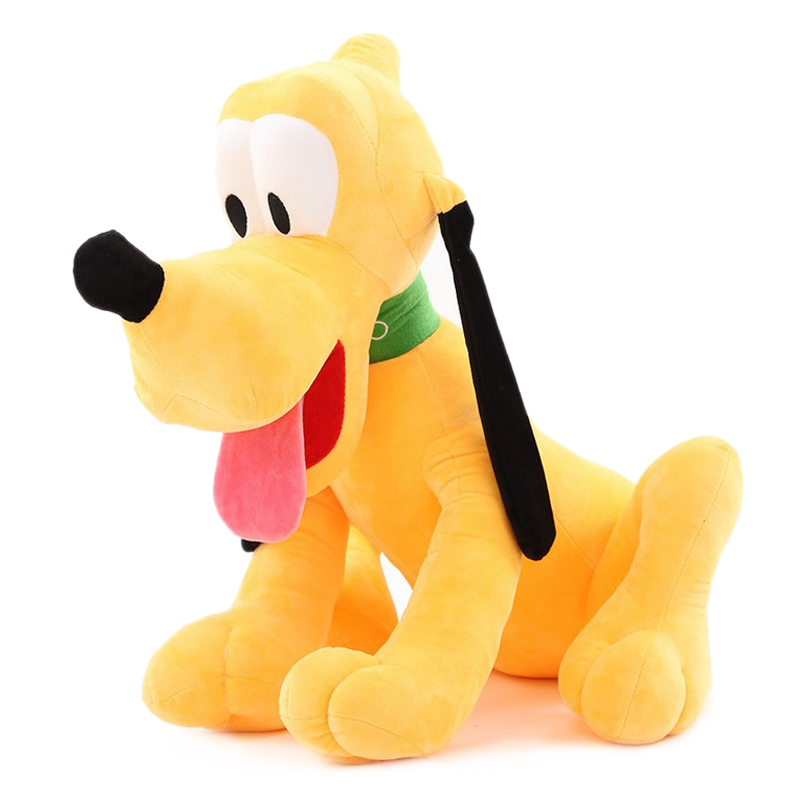 6pcs/lot 30cm Mickey Minnie Mouse,Donald Duck Daisy GOOFy Dog,Pluto Dog Cartoon Figure Plush Toys Kids Cute Classic Dolls Gift