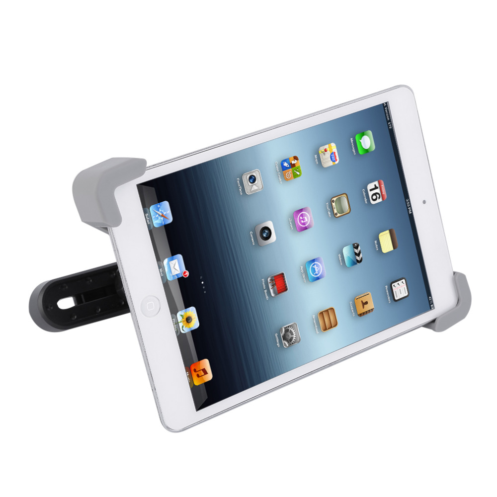 HOT 360 Degree Car Mount Back Seat Headrest Holder Stand Bracket For iPad 2 3 4 5 mini 7-11 Inches Auto Tablet PC Bracket Kit
