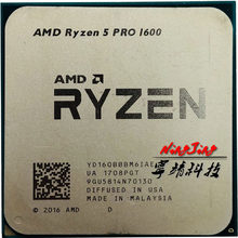 AMD Ryzen 5 PRO 1600 R5 1600 3.2 GHz Six-Core CPU Processor YD160BBBM6IAE Socket AM4(China)