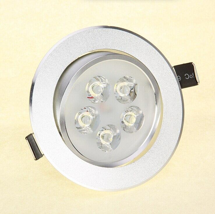 Бесплатная доставка 5x2 Вт 10 Вт downlight CREE светодиодный потолочный светильник Встраиваемые пятно света 85 В- 245 В для домашнего освещения