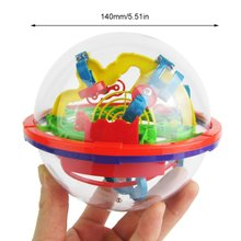 3D Magic Intelligence Labyrinth Ball Portable UFO Child Early Learning Educational Toys Intellect Puzzle