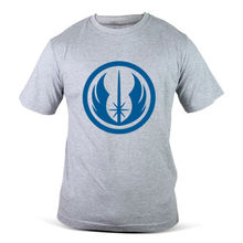 6261-GY Star Wars Ordem Jedi Logo Grey Mens T-Shirt Free shipping  Harajuku Tops Fashion Classic
