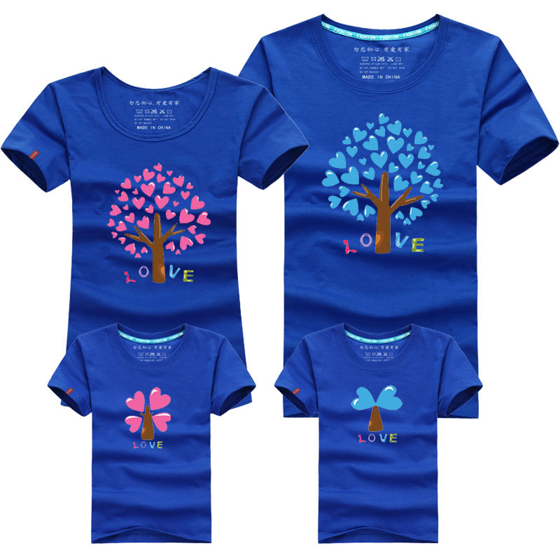 Family Look T Shirt Family Matching Clothing Mother And