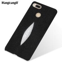 Custom pearl leather phone case For xiaomi 5x half-pack mobile mobilephone Xiaomi pocophone f1