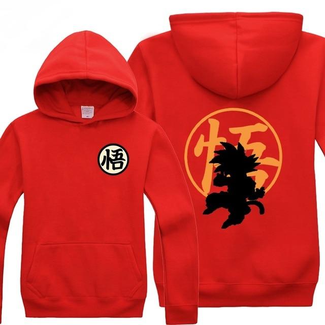 Dragon Ball Z  Son Goku Print Hoodie