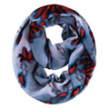 [Ode To Joy] Fashion women scarf large size sun flower printed scarves chiffon Infinity Scarf Loop foulard scarves good quality
