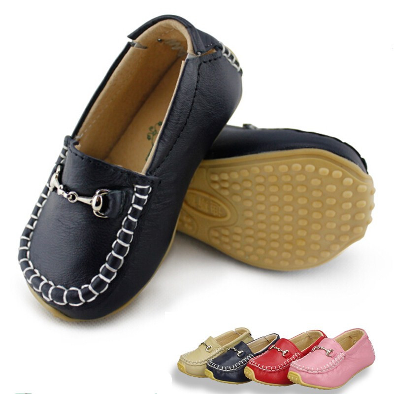 Tipsietoes Leather Boys Kids Girls Fashion Baby Children Shoes Flats Sneakers Lights Children's Casual NmdGenuine Cuteshoe Comfy