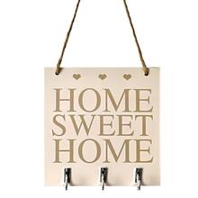 Nordic Home Sweet Wood Bedroom Poster Wall Beautiful Practical Sign Plaque Creative Livingroom White Hanging