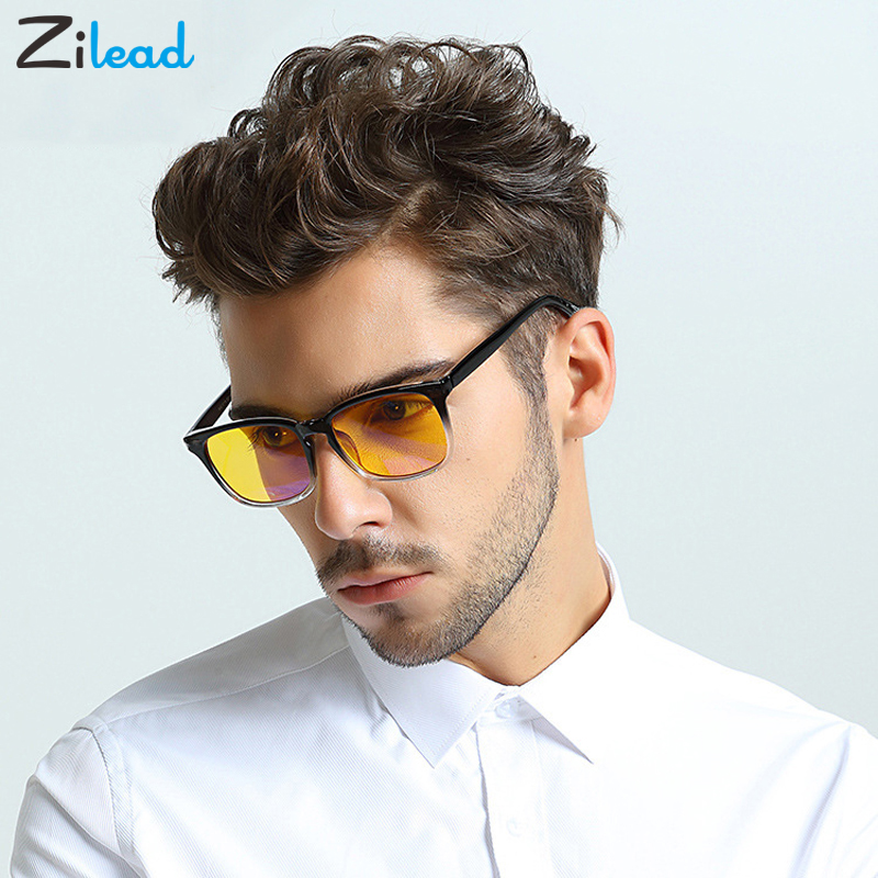 Zilead Reading Glasses Anti Blue-ray Women Men Ultra-light Resin Unisex Optical Glasses Vintage Computer Plain Oculos Eyewear
