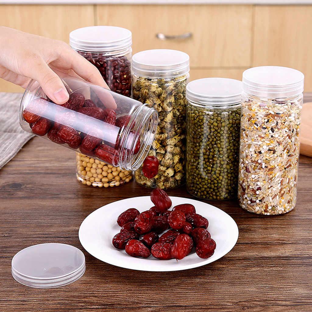 Dropshipping Cozinha Caixa De Armazenamento De Vedação Conservação de Alimentos Recipiente Pote de Doce de Plástico