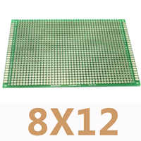 1PC 8X12cm Double Side Copper Prototype DIY Universal Printed Circuit PCB Board Protoboard for Arduino