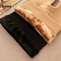 Autunno Inverno Plus. Cashmere Super-Spessa Donne Collant Addensare Nylon Velluto 2200D Collant Caldi