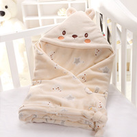 90*90cm 3 Colors Baby Stroller Sleeping Bag Cartoon Fall Winter Warm Sleepsacks Newborn Envelope For Kids Pram Boys Girls