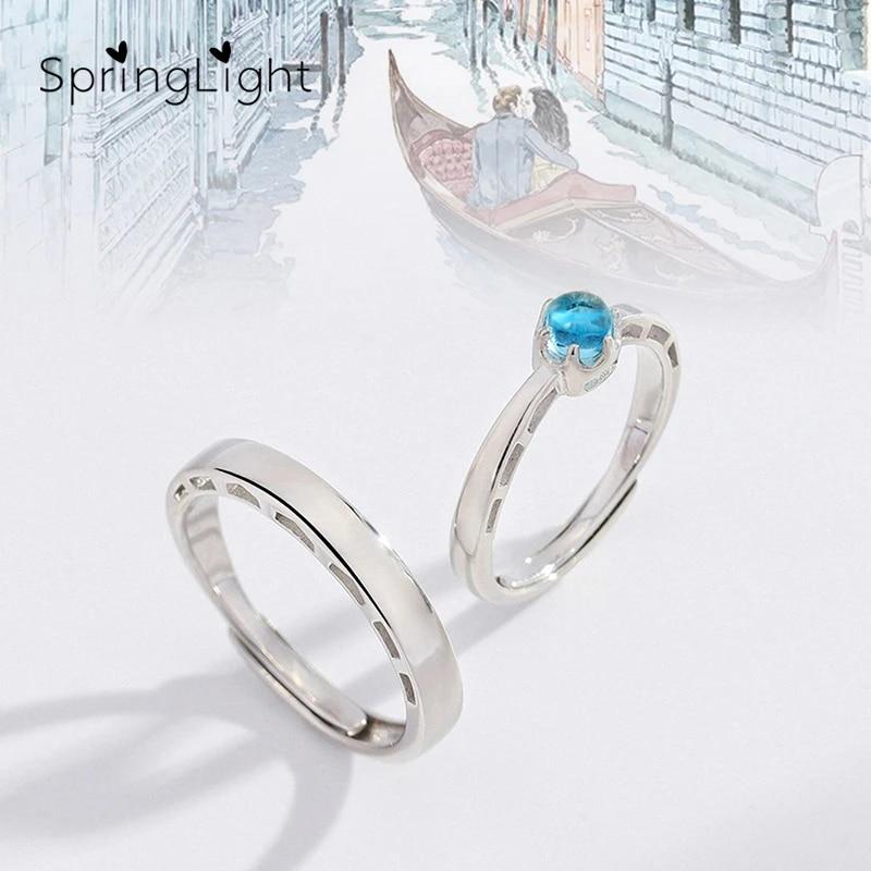 Bridge ring Thin silver ring silver