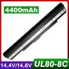 14.8V Laptop Battery For ASUS PL30 PL30J PL30JT U30 U30J U30K U30S U35 U40 U40S U45 UL30 UL30A UL30J UL30K UL30V UL80 UL80A X5GA