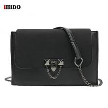 Women Nubuck Leather Vintage Messenger Flap Bag Small PU Metal Lock Chain Crossbody Purse for Girls Fashion Designe Shoulder Bag недорого