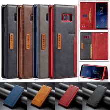 S8 Plus Case For Funda Samsung S8 Wallet Luxury Phone Cover Hoesje Samsung Galaxy S8 Plus Case Leather Card Flip Cover Bags S8 цена и фото