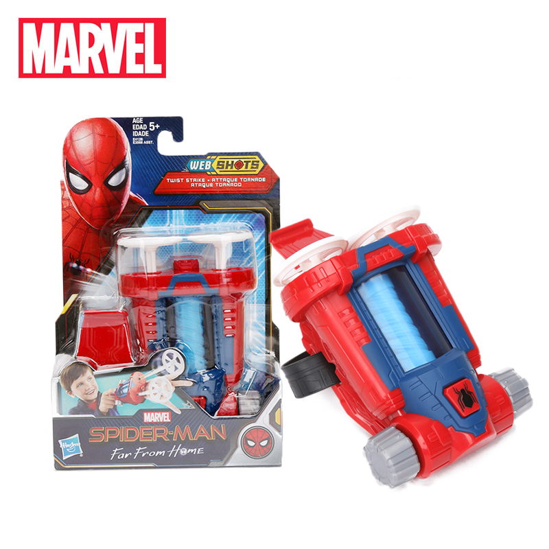 2019 Marvel Toy Avengers Spider-Man Web Shots Twist Strike Blaster Toy for Kid Peter Parker Spiderman Far From Home Cosplay Prop(China)