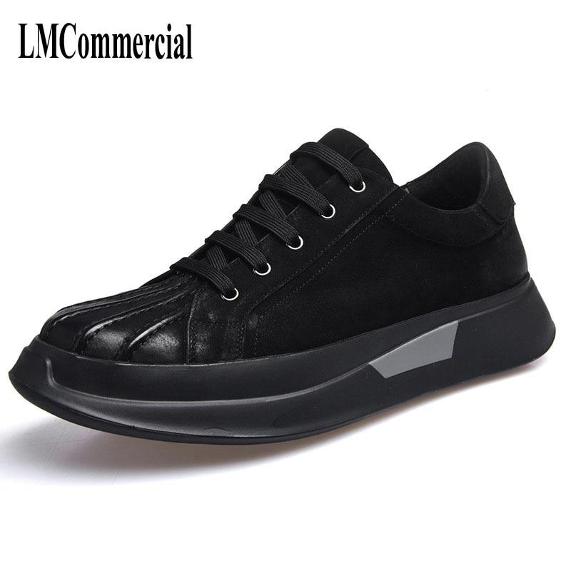 ew autumn winter British retro men lenather shoes black boots all-match casual boots men breathable leather shoes fashion inov 8 сумка all terrain kitbag black