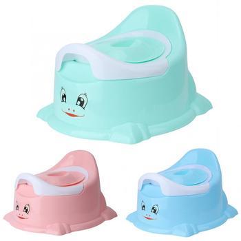 Nocnik dla niemowląt miska treningowa Pan deska klozetowa przenośne krzesełko z nocnikiem pisuar wygodne oparcie kreskówka dla dzieci tanie i dobre opinie Z tworzywa sztucznego 10-12 M 13-18 M 19-24 M 2-3Y 7-9 M Cartoon Baby Toilet Potties Baby Pot baby potty portable baby potty seat