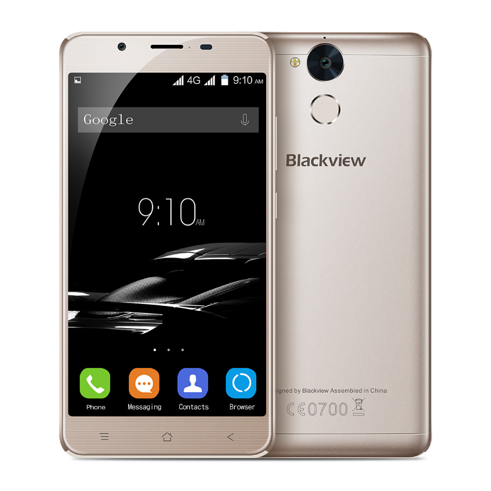 4G LTE Mobile Phone Blackview P2 5 5Inch 1920 1080 MTK6750 Octa Core 4GB RAM 64GB
