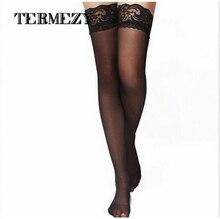 Экзотические чулочно-носочные черное кружево чулок сексуальное леди колготки нижнее носки изделия