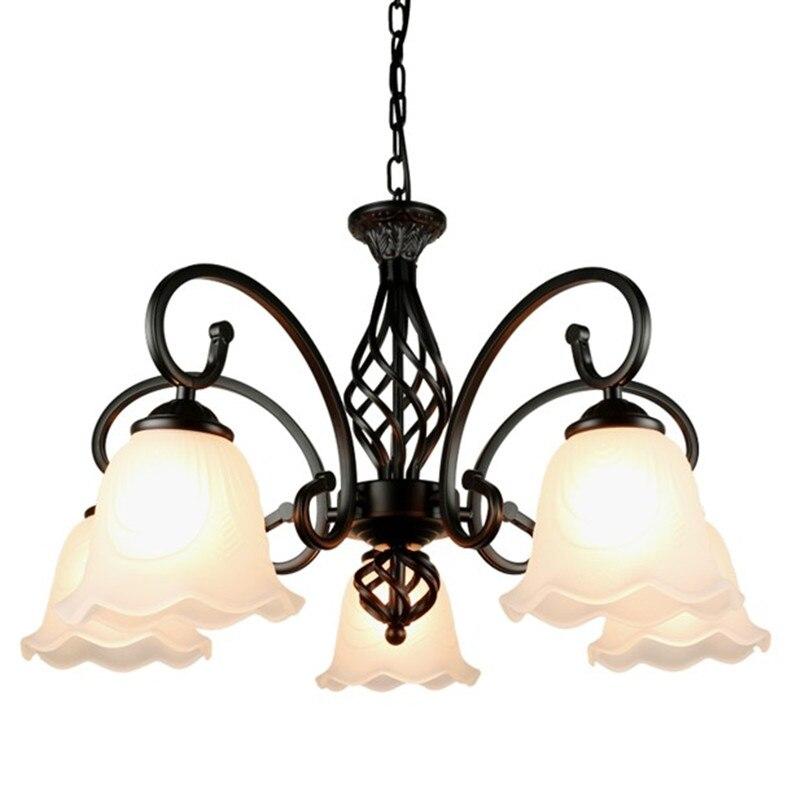 Chandelier Led Light Bulbs: E27 Led Bulb Light Chandelier European Traditional Metal
