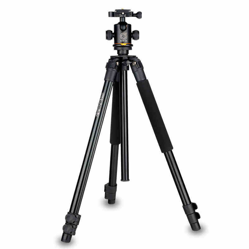 Q360 1500mm height digital camera tripod stand with fluid damping gimbal head portable photo tripod for Camcorder& Video & DSLR zdk q360 orange