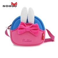 NOHOO Ocean Animals Shoulder Bags For Girls Boys Waterproof 3D Crab Kids Baby Bags For Children
