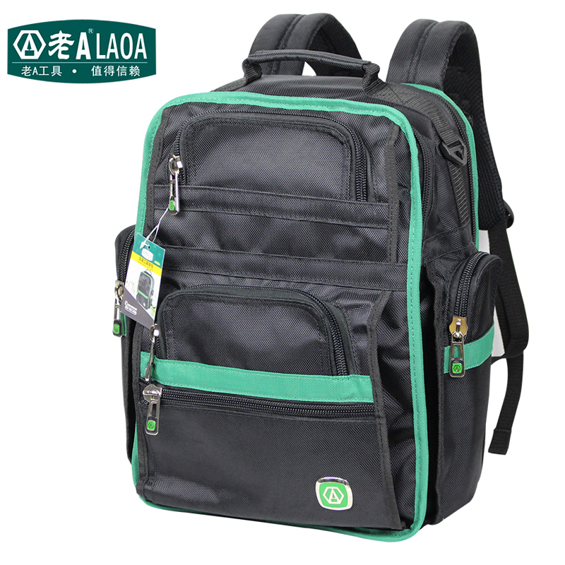 LAOA Multifunction Tool Backpack High Quality Thicken Professional Electrician Backpack Travel Bag 1pcs laoa high quality guaranteed 100