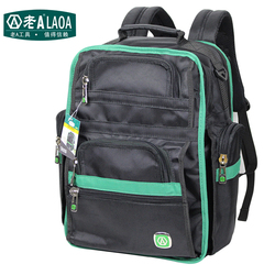 LAOA Multifunction Tool Backpack High Quality Thicken Professional Electrician Backpack  Travel Bag
